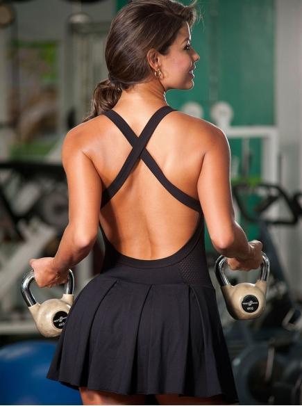 Vestidos Fitness Para Mujer Negro