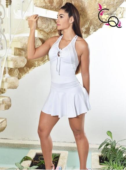 Vestido de Dama Para El Gym