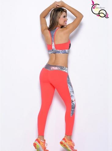 Outfit Deportivo De Dama Rojo