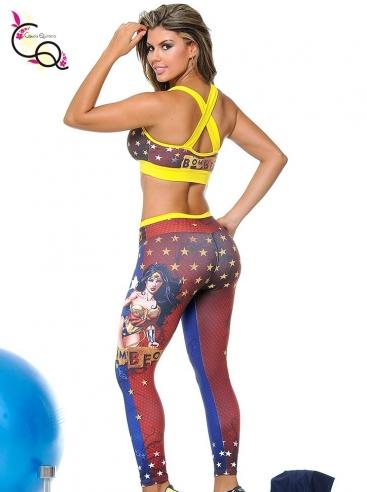Outfit De Entrenamiento Para Mujer Azul