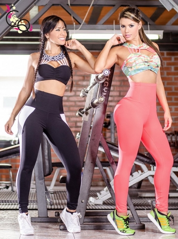 Set Top y Leggins Pretina Alta