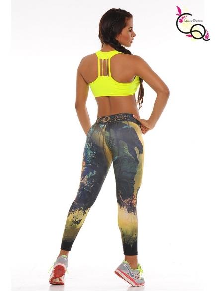 Ropa De Mujer Para El Gym Amarillo