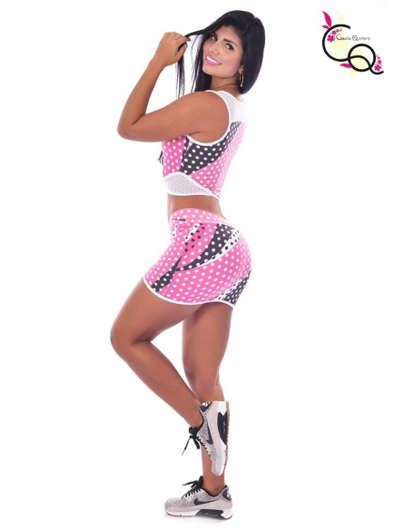 Falda Deportiva y Top Para Mujer