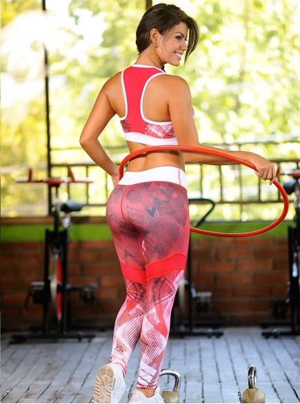 Ropa Deportiva Para Mujer Cali Roja