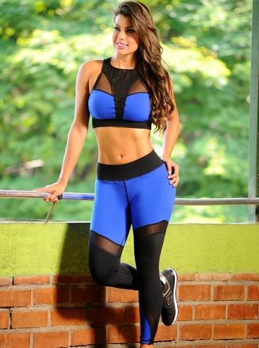 Ropa Deportiva Para Mujer Cali Azul