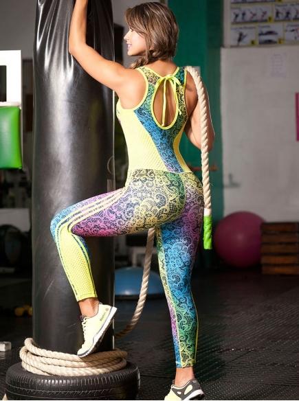 Enterizo Fitness Verde