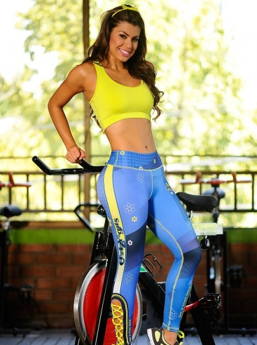 Ropa Atlética Para Damas Azul