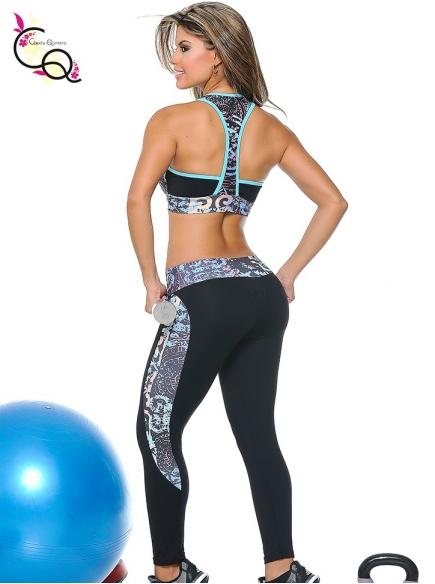 Outfit Deportivo De Dama Negro